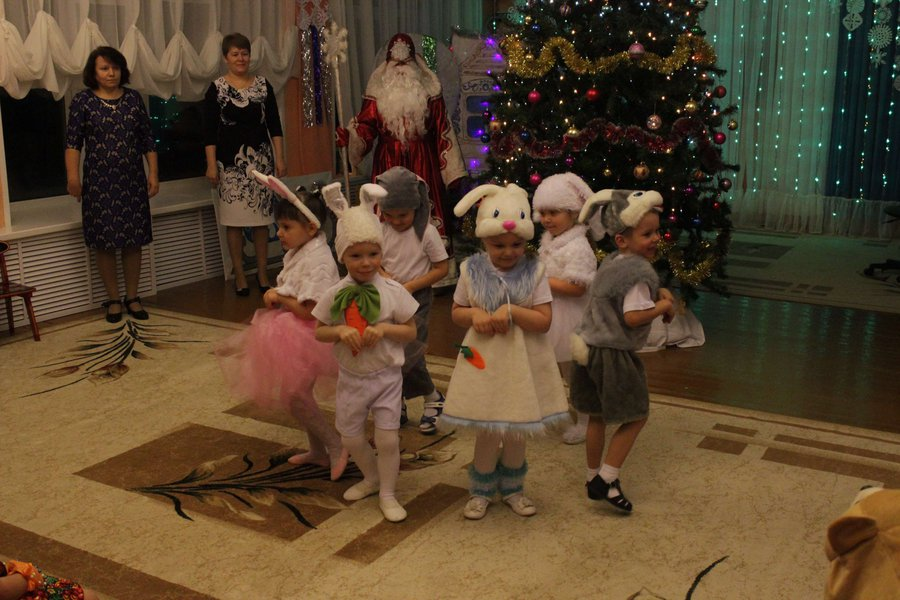 Новогодний сценарий детского утренника в детском саду